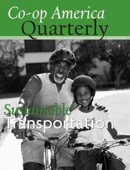Sustainable Transportation - Green America