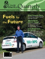 Fuels for the Future - Green America