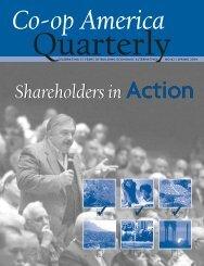 Shareholders in Action - Green America