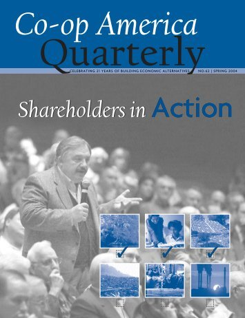 Shareholders in Action - Green America