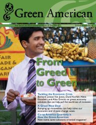 available online - Green America