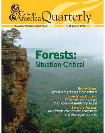 Forests: Forests: - Green America