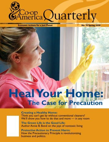 Heal Your Home: - Science & Environmental Health Network