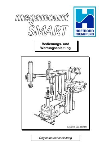 Bedienungs- und Wartungsanleitung - Hofmann Megaplan