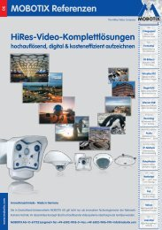 MOBOTIX Referenzen - camtech-inside.de