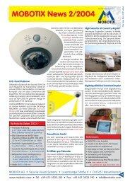 News 2/04 - camtech-inside.de