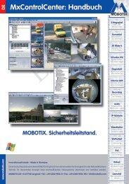 MxControlCenter: Handbuch X - camtech-inside.de
