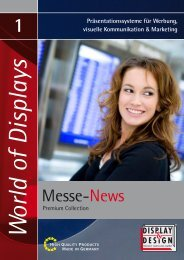 01 Messe News - Display & Design Helmut Amelung GmbH