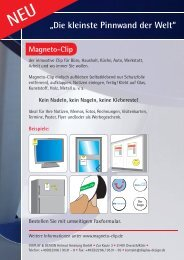 """Magneto-Clip""-PDF - Display & Design Helmut Amelung GmbH"