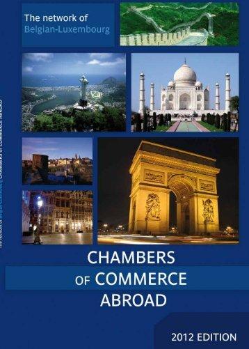2012 - Chambre de Commerce
