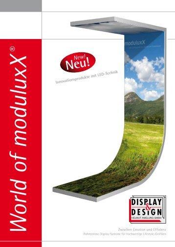 moduluxX - Display & Design Helmut Amelung GmbH