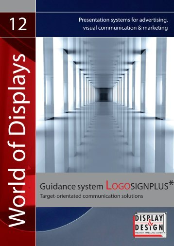 Guidance system LOGOSIGNPLUS* - Display & Design Helmut ...
