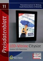 11 LED-Vitrine Citysize