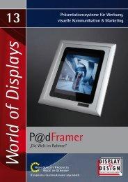"""P@dFramer®""-PDF - Display & Design Helmut Amelung GmbH"