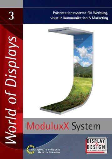 ModuluxX System - Display & Design Helmut Amelung GmbH
