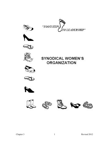 Chapter 3 - NC Women of the ELCA