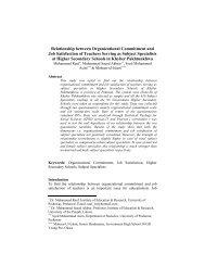 Relationship between Organizational Commitment and Job ...