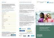 Flyer Fachtag Bildungslandschaften - Ganztägig Lernen - Saarland
