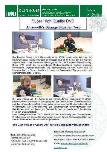Ainsworth's Strange Situation Test - PD Karl Heinz Brisch