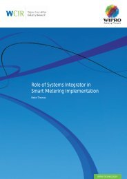 Role of Systems Integrator in Smart Metering Implementation
