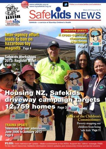 Issue 60, March 2013 - Safekids