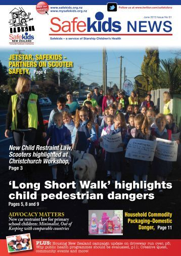 Issue 61, June 2013 - Safekids