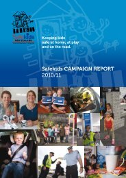 Safekids CAMPAIGN REPORT 2010/11