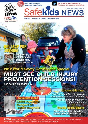 MUST SEE CHILD INJURY PREVENTION SESSIONS! - Safekids
