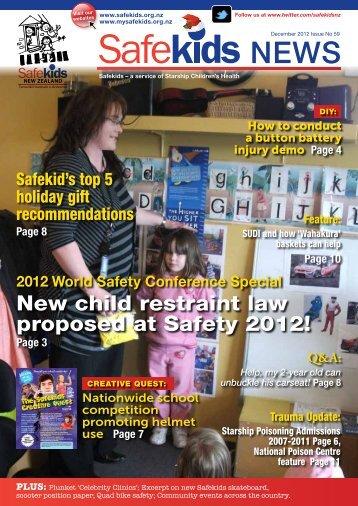 Issue 59, December 2012 - Safekids