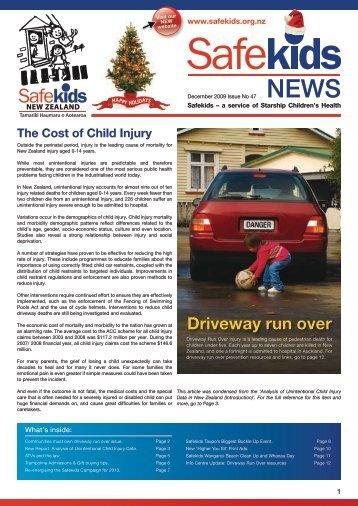 Driveway run over - Safekids