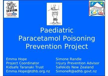 Paediatric Paracetamol Poisoning Prevention Project - Safekids