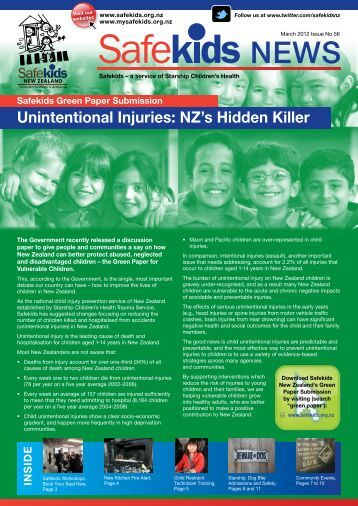 Issue 56, March 2012 - Safekids