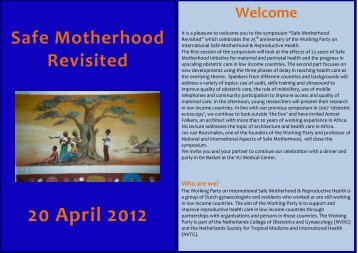 Folder - Working Party on International Safe Motherhood ...