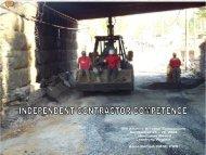 Contractors Checklist - Safequarry.com