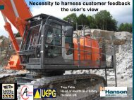 Necessity to harness customer feedback the user's ... - Safequarry.com