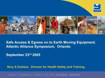 Access and Egress on Earthmoving Equipment - Safequarry.com