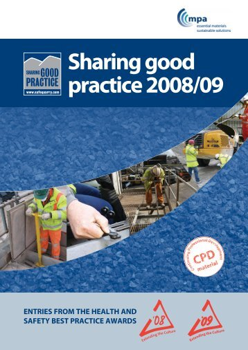 Sharing good practice 2008/09 - Safequarry.com