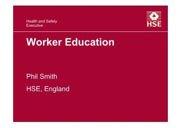 Worker Education and its contribution to Improved ... - Safequarry.com