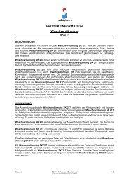 Waschverdünnung SK 217 - Safety-Kleen Deutschland GmbH