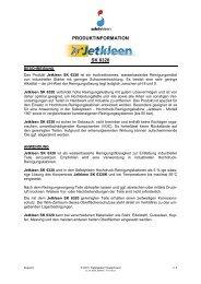 Jetkleen SK 6320 - Safety-Kleen Deutschland GmbH