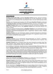 Aquakleen Premium SK 13279 - Safety-Kleen Deutschland GmbH