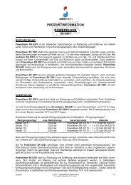 Powerkleen SK 6301 - Safety-Kleen Deutschland GmbH