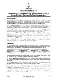 Produktinfo - Safety-Kleen Deutschland GmbH
