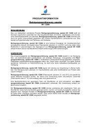 Reinigungsverdünnung, spezial SK 13266 - Safety-Kleen ...