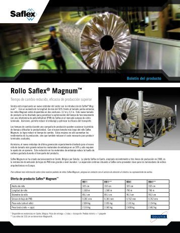 Rollo Saflex® Magnum™ - Saflex.com
