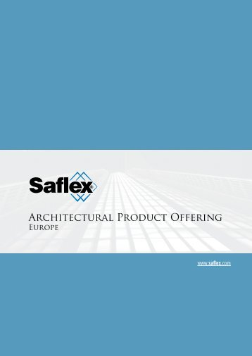 Architectural Product Offering - Saflex.com