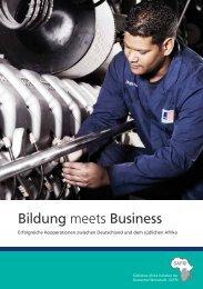 Bildung meets Business - Über SAFRI