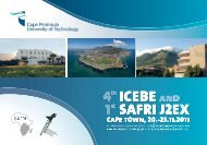 conference programme - icebe.net