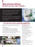 Metering market brochure - Saft - Page 4