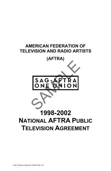 Distributors Assumption Agreement Theatrical Sag Aftra